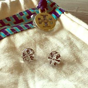 Tory Burch Emblem Earrings